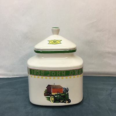 John Deere 1935 Model B Tractor Gibson Medium Canister Country Farm Vintage