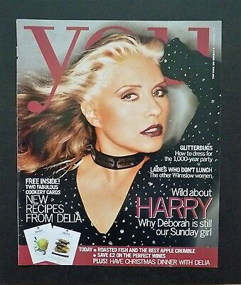 Debbie Harry Interview - You Magazine Nov 7th 1999 - EXCELLENT CONDITION