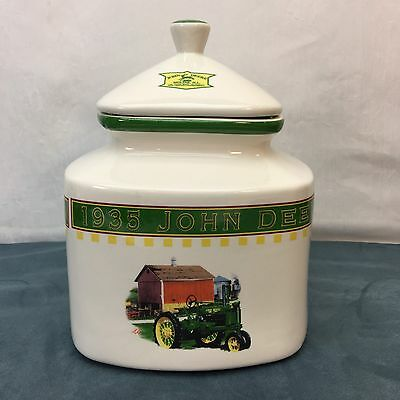 John Deere 1935 Model B Tractor Gibson Large Canister Country Farm Vintage