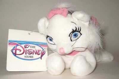 """Retired Marie White Mom Cat From The Aristocats 7"""" Plush NWT Disney Store"""
