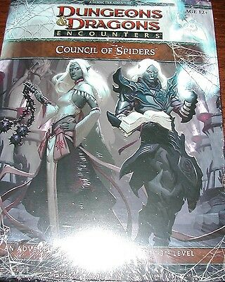 Dungeons & Dragons 4e Encounters Council of Spiders New Sealed