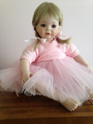 "Celia Dolls Porcelain Doll ""Pippa"" Limited Edition Sweet Ballerina"