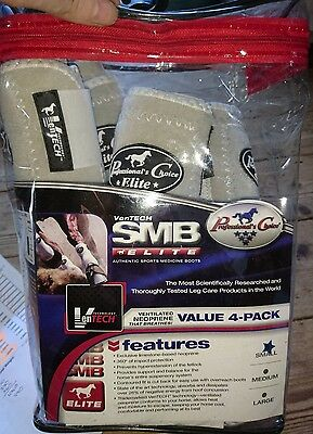 professional choice ventech smb elite 4 pack white small boots