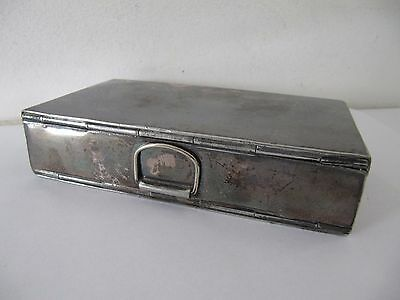 Yates Silver Plated Folding Sandwich Box A & NCS Ld