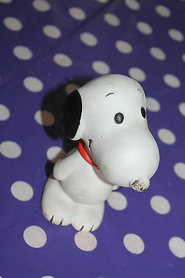 Vintage Snoopy Squeaky Toy 1966 United Features Syndicate