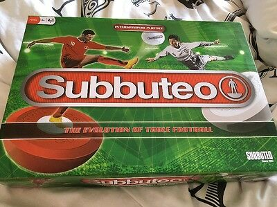 Subbuteo Table Football - Complete Starter Set - Pitch / Teams / Ball 2015
