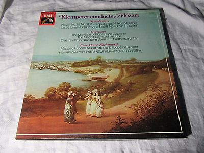SLS5048 - KLEMPERER Conducts MOZART - 6 x LP box set NM