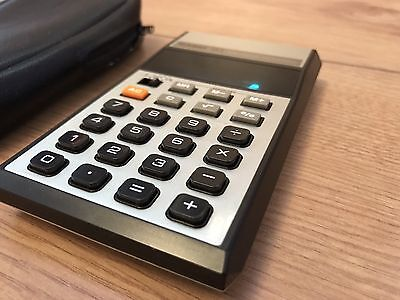 Vintage Casio H-1 Electronic Calculator 1980 Original Box and Instructions Mint