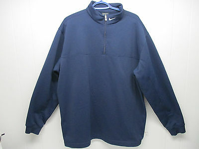 men's pre-owned Nike Golf Therma Fit partial zip sweater- size- XL.