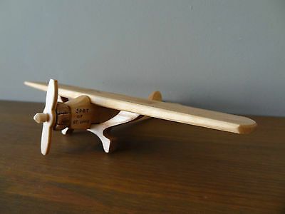 Wooden toy, plane Spirit of .St.Louis - vintage style, handmade,High quality