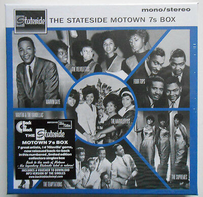 "STATESIDE MOTOWN 7s BOX - 7 x 7"" Single Numbered Box Set NEW & SEALED!! #1894"