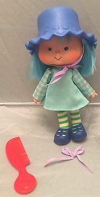Vintage Strawberry Shortcake Blueberry Muffin Doll American Greetings Corp 1979