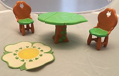 Vintage Strawberry Shortcake Berry Happy Home Dining Room Table Doll Furniture