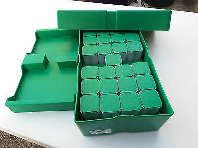Lot-4) Silver Eagle 1 oz. Monster Box U.S Mint With 25 Empty Tubes (NO COINS)
