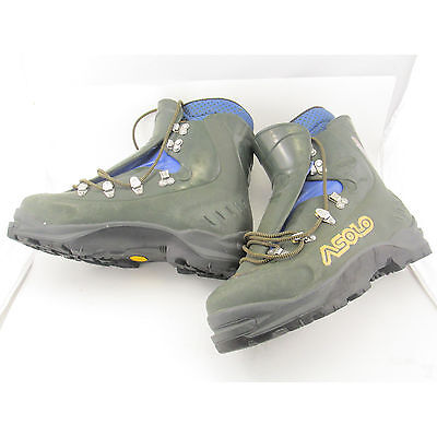 US 11.5 Men's Asolo AFS Guide boots mountaineering, ice climbing, alpine