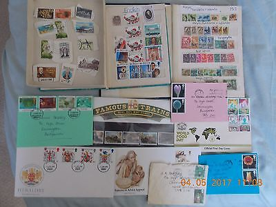 Collection Of Worldwide Stamps-1960-85-Lots Kenya (Tribes,minerals)East Afrca/uk