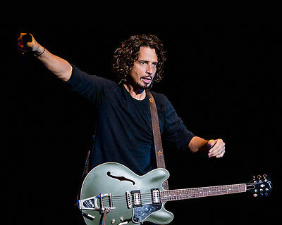 Chris Cornell 8x10 Photo R.I.P. Lab Printed Color Picture #117