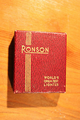 Ronson De-Light Cardboard Box Only VGC