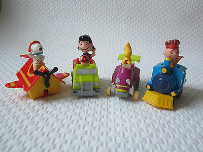 Happy Meal 1989 - Peanuts - Snoopy, Lucy, Franklin, Charly - Rückziehfunktion