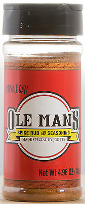 Ole Man's Spice Rub & Seasoning - Original Blend 4.96 oz., Gluten Free