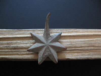 7-Pointed Star Amulet Ancient Celtic Bronze Cosmic Talisman 500-200 B.c.