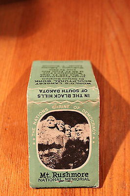 Vintage Mount Rushmore Matchbook The Ohio Match Co. VGC