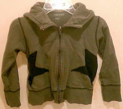 Eva&Oli Boys Girls Kids Children Sweater Top Cardigan Size 8 Gray Long Sleeves