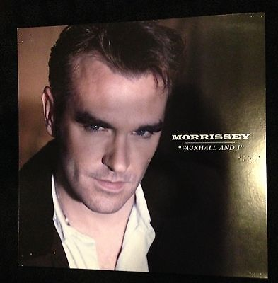 Morrissey Vauxhall And I Promo Poster Flat 12x12 The Smiths
