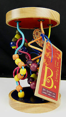Baby Spiral Bead Toy Toddler Development B A-Maze Loopty Loo 18 Month - 3 Yrs