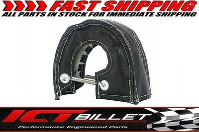Turbocharger Blanket Black T4 GT45 Turbo Heat Protective Cover Shield