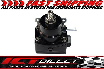 EFI Fuel Pressure Regulator 1:1 Boost Referenced for LS Turbo -6AN