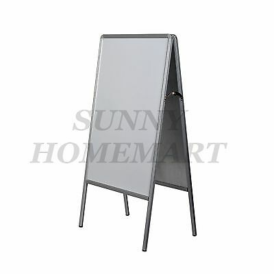 New 60x90 Double Sided A Frame Whiteboard Poster Stand Street Sign Display Board