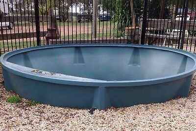 Toddlers Pool Stock Trough Set Up With Solar Water And Pump Above Or Below Grnd
