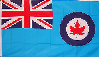 NEW 3x5 ft CANADA ROYAL AIR FORCE AIRFORCE FLAG