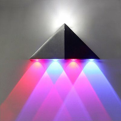 Modern Triangle Led Wall Light Indoor Up & Down 5W Sconce Spot Lamp Lighting