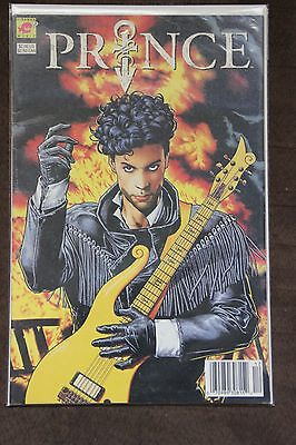 Prince: Alter Ego (1991) 1st Printing Rare Newstand Edition Brian Bolland