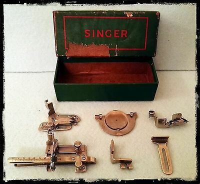 Vintage Singer Sewing Machine Parts Accessori Macchina Da Cucire