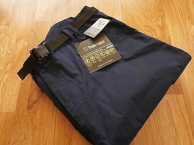 Mens Trekmates Convertible Travel Walking Hiking Trousers Navy Size 36 see size