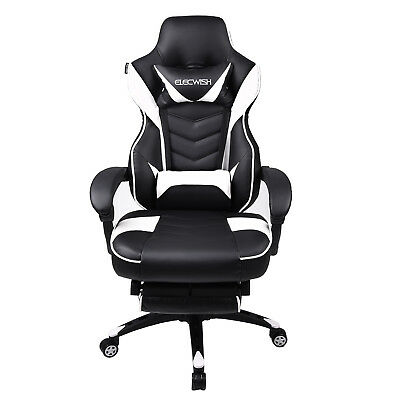 High Back Gaming Chair Racing Style Ergonomic Computer Desk Office Recliner Home