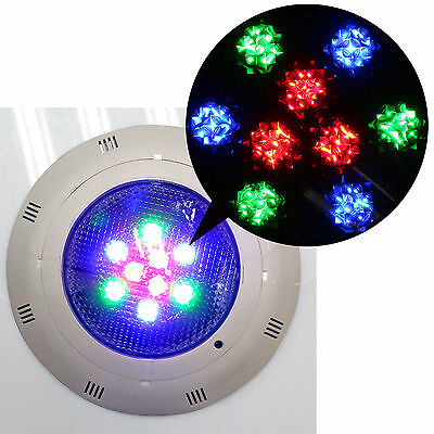 12V LED RGB Underwater Swimming Pool Bright Light + Remote Control 5Colors