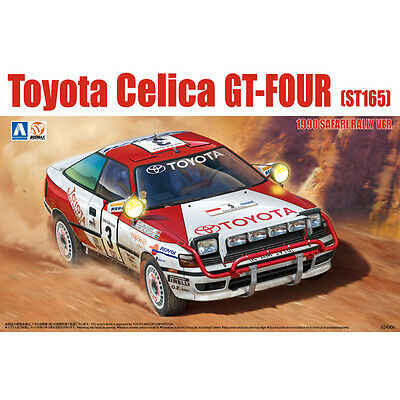 Aoshima 97885 New 1/24 Toyota CELICA GT-FOUR ST165 1990 Safari Rally Ver. Rare