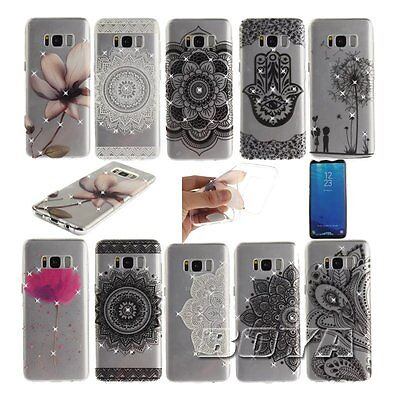 Bling diamond phone case For Samsung galaxy j2/j3/j5 prime patterns clear cover