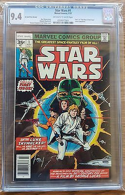 Star Wars #1 35 Cent Variant CGC 9.4 (OW-W)