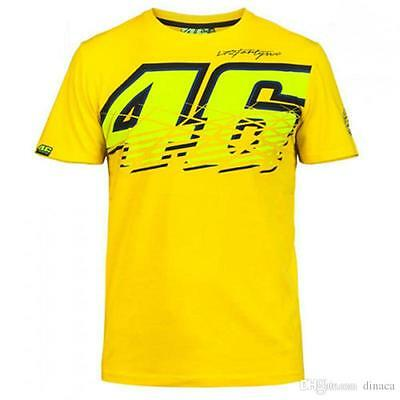 Official Valentino Rossi The Doctor signature Yellow T-Shirt New 2017 Design