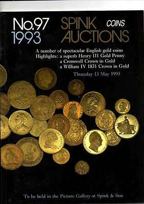 Spink Auction Catalogue May 93 A Number Of Spectacular English Gold Coins Etc