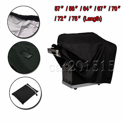 BBQ Cover Waterproof Barbecue Cover Garden Patio Grill Protector Heavy Duty UK