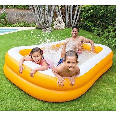 Pool Safety For Kids Small Swimming Inflatable Kiddie Intex Indoor Backyard New