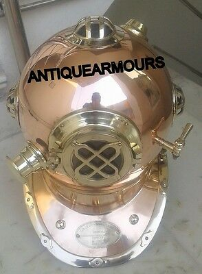 Deep Diving Diver Helmet Sea Sca Us Navy Helmet _ Reproduction Gift Item