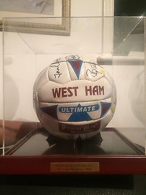 West Ham Signed Football