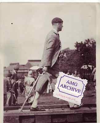 Edward VIII 1931 Press Photo The Prince of Wales open golf Carnoustie Scotland A